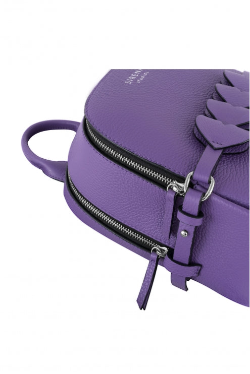 Backpack Lady Anne CUORE purple