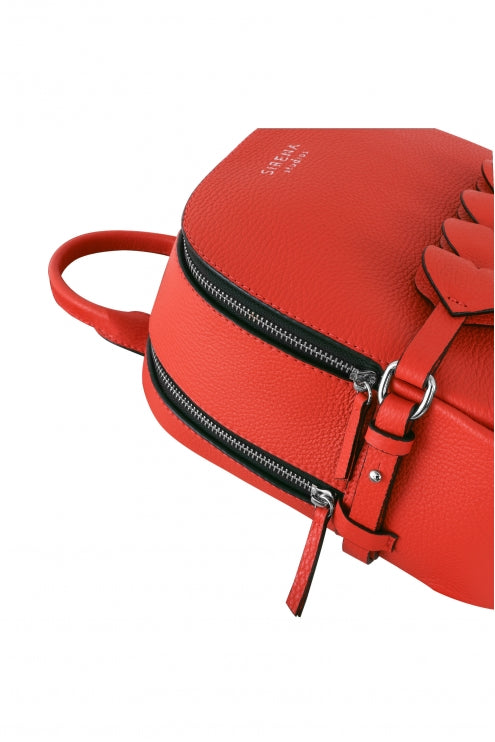 Backpack Lady Anne CUORE red