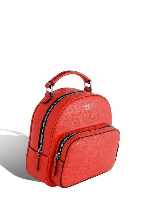 Backpack Lady Anne LUCIDARE maxi red