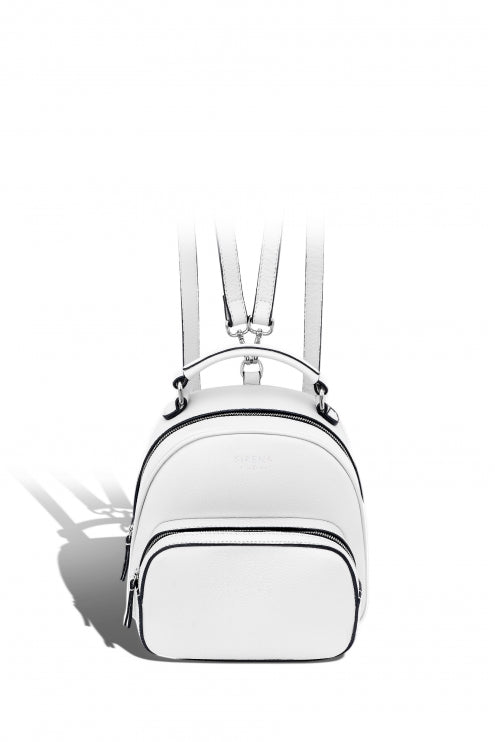 Backpack Lady Anne LUCIDARE maxi white