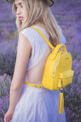 Backpack Lady Anne Prime yellow
