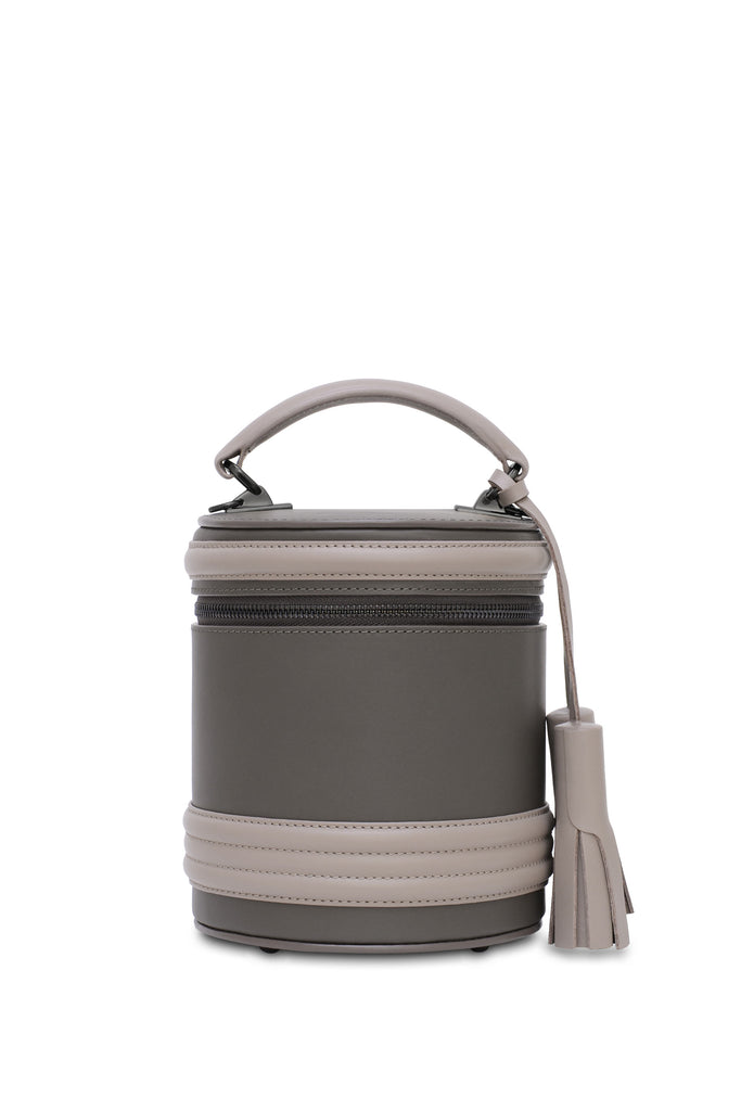 Lady Anne barrel two-by-two black/silver