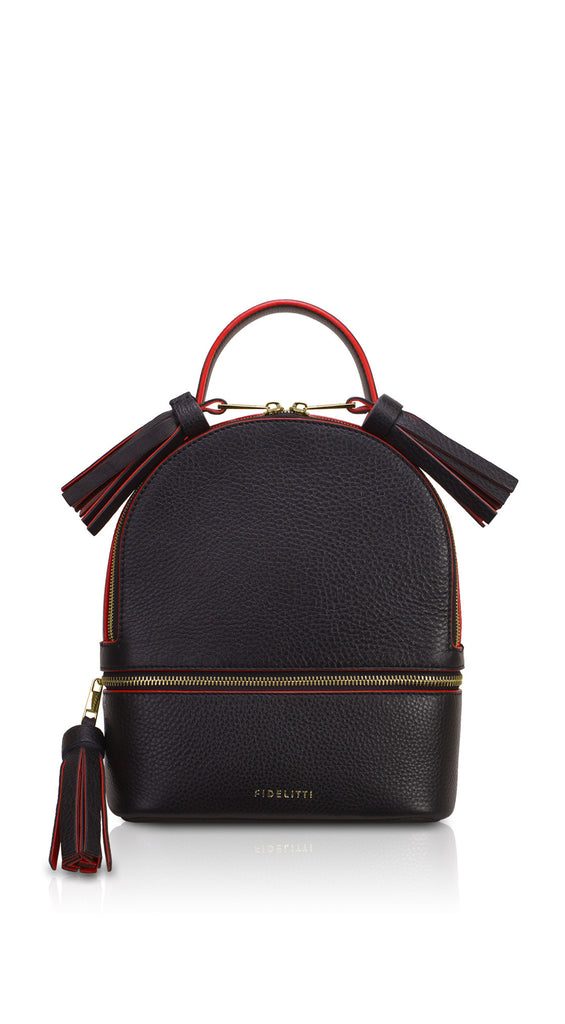 Backpack Lady Anne 'GO GO' black&red