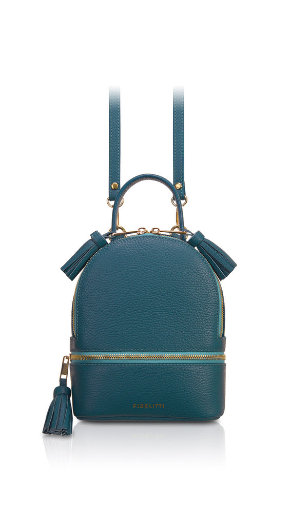 Backpack Lady Anne 'GO GO' mini teal