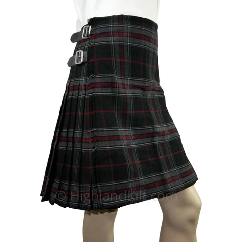 Bruce Spirit Heavyweight Poly Viscose Formal 8 Yard Kilt - Highland Kilt Company