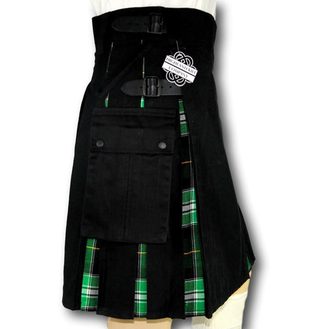 Cargo Tartan Combo Kilt: Irish Formal - Highland Kilt Company