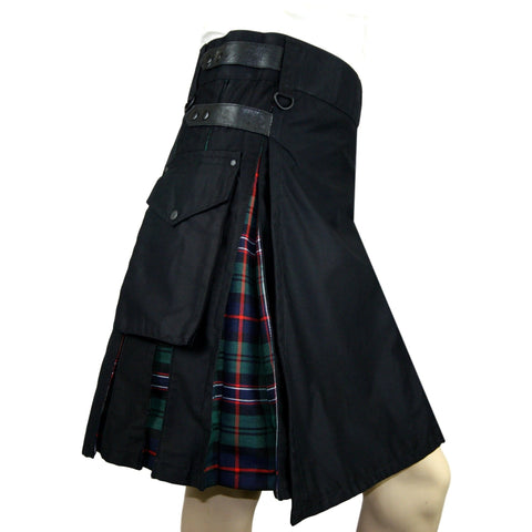 Cargo Tartan Combo Kilt: Scottish National - Highland Kilt Company