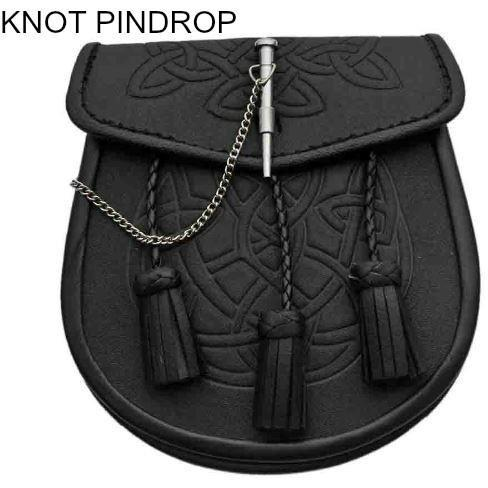 Pin Drop Knot Work Sporran - Highland Kilt Company