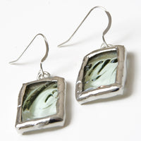 Coca-Cola Bottle Square Earrings