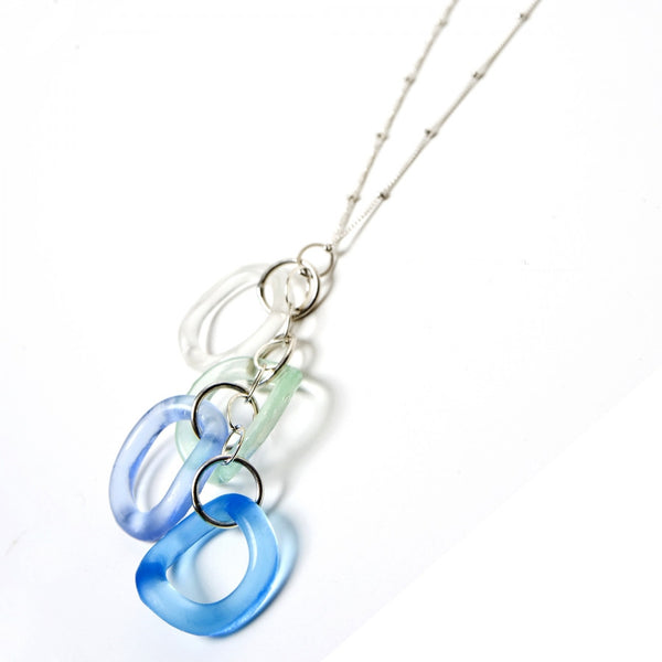 Wave Chandelier Necklace