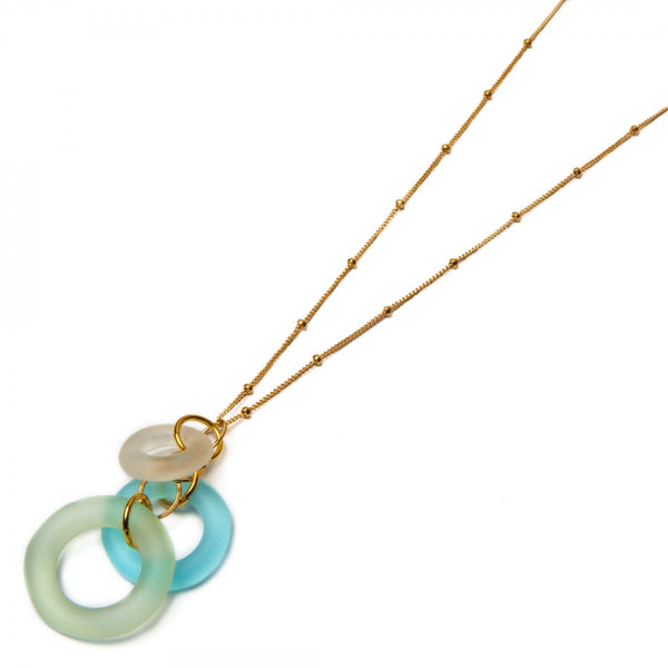 Mini Chandelier Necklace Multi