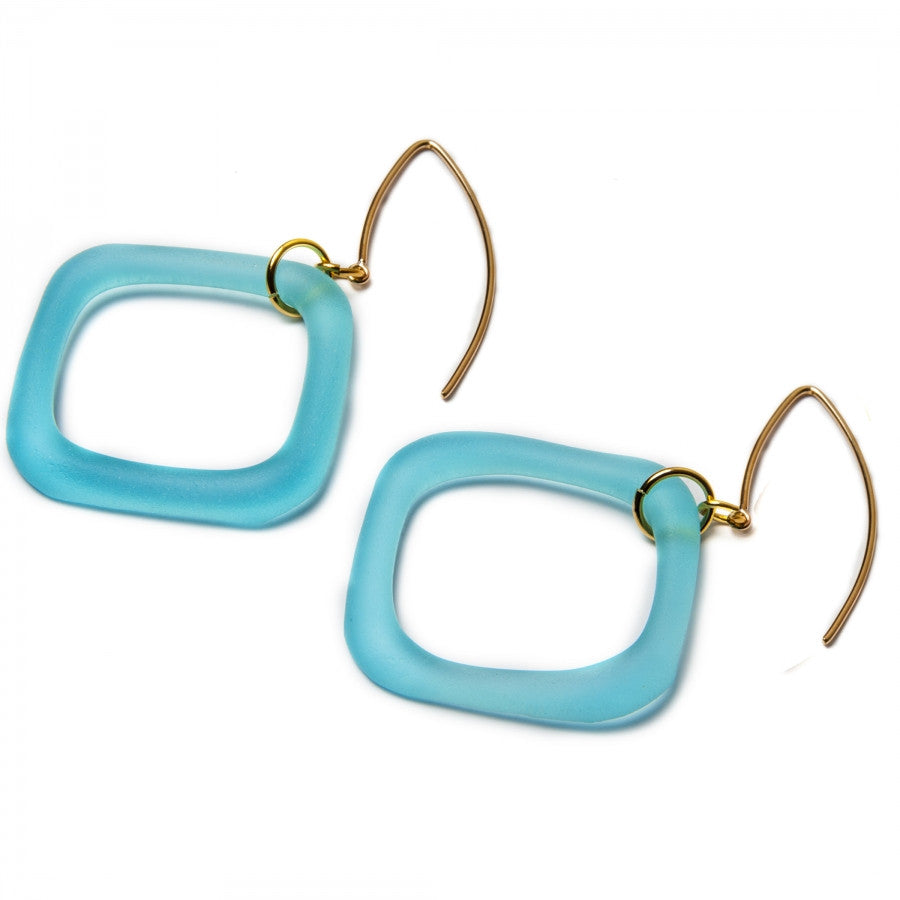 Boomerang Gin Earrings Gold