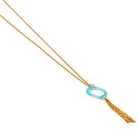 long gin necklace gold