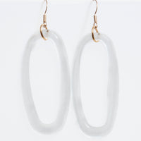 Boutique Oval Earrings