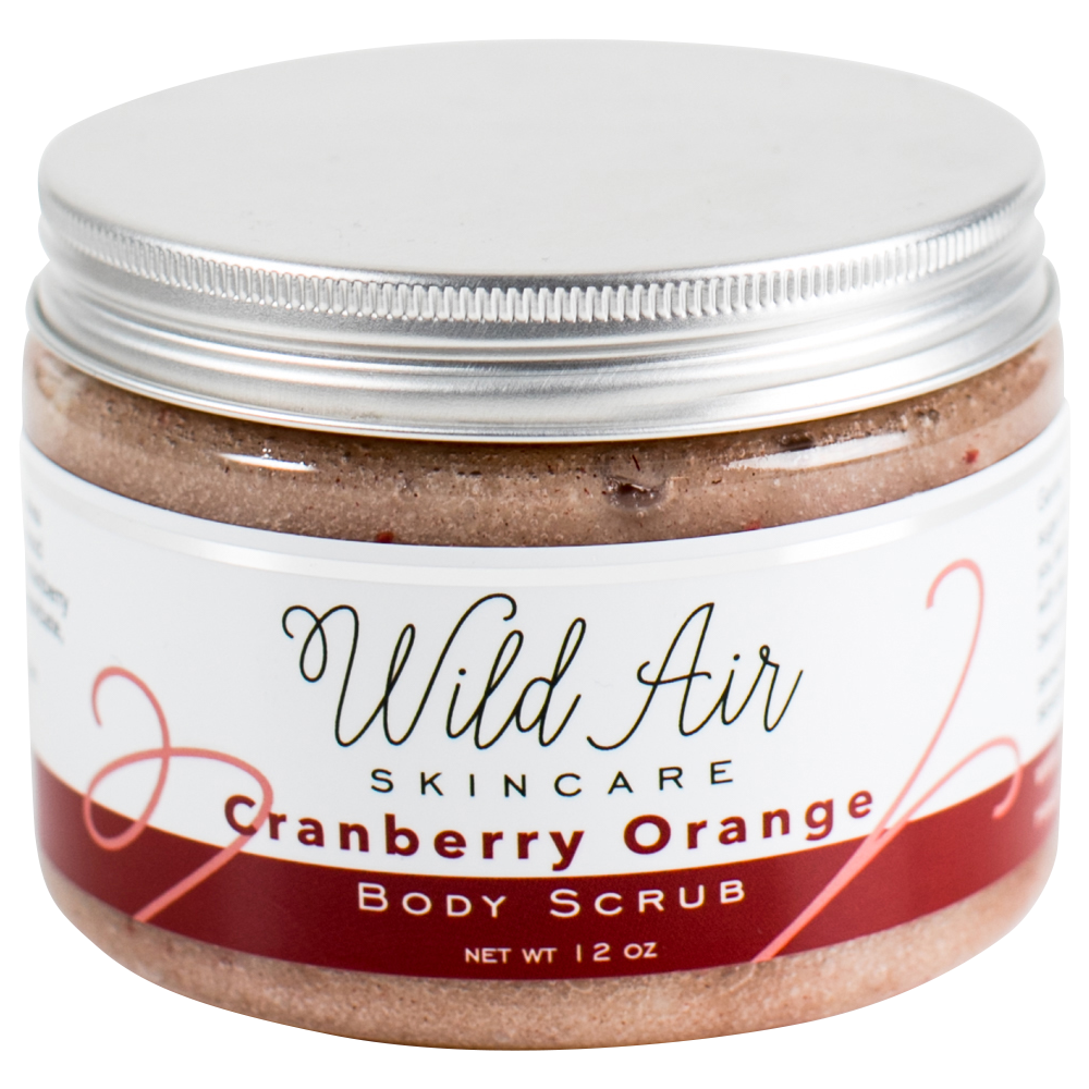Cranberry Orange Body Scrub