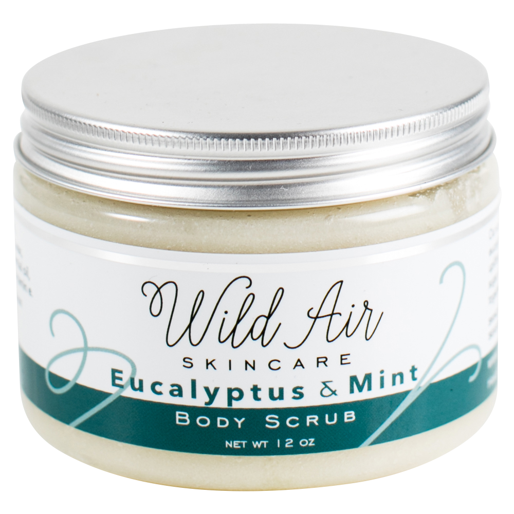Eucalyptus and Mint Body Scrub