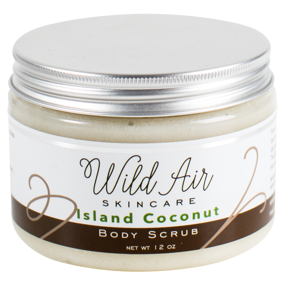 Island Coconut Body Scrub