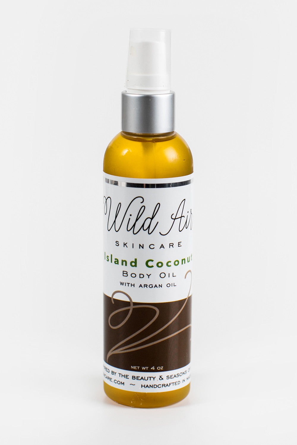 Island Coconut Body Oil