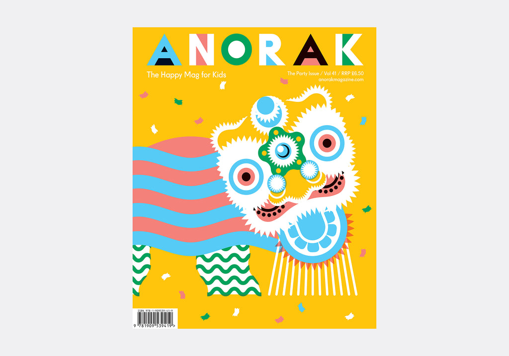 ANORAK MAGAZINE - PARTY - VOL 41