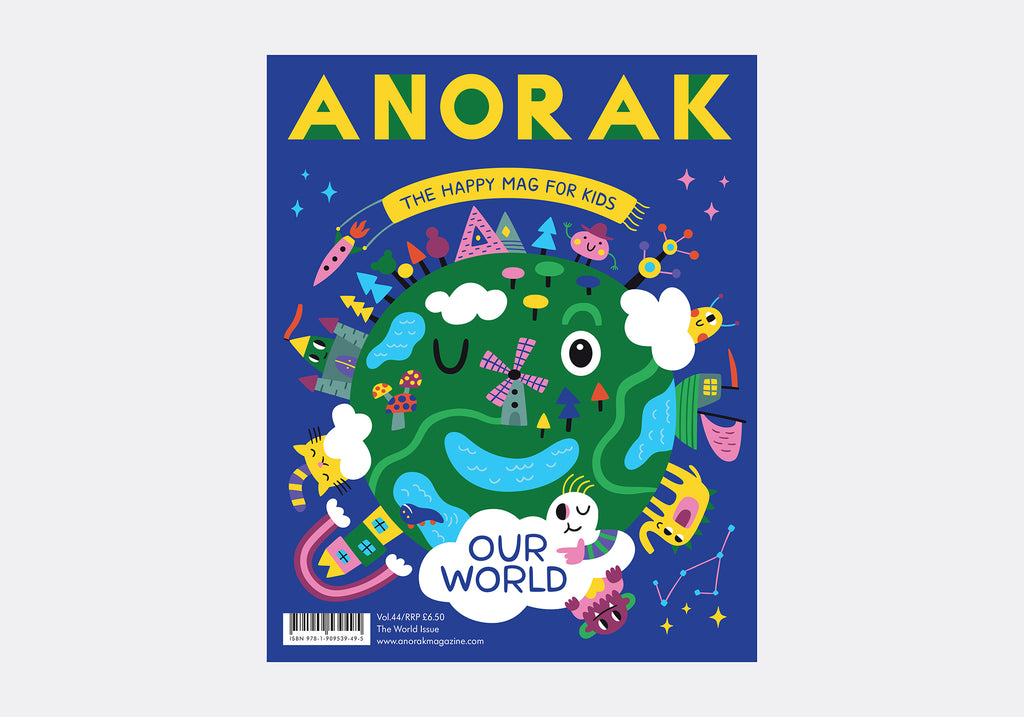 ANORAK MAGAZINE - WORLD - VOLUME 44