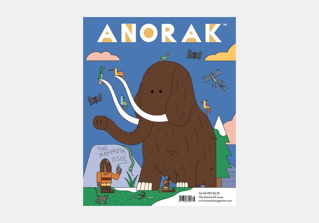 ANORAK MAGAZINE - MAMMOTHS - VOL 45