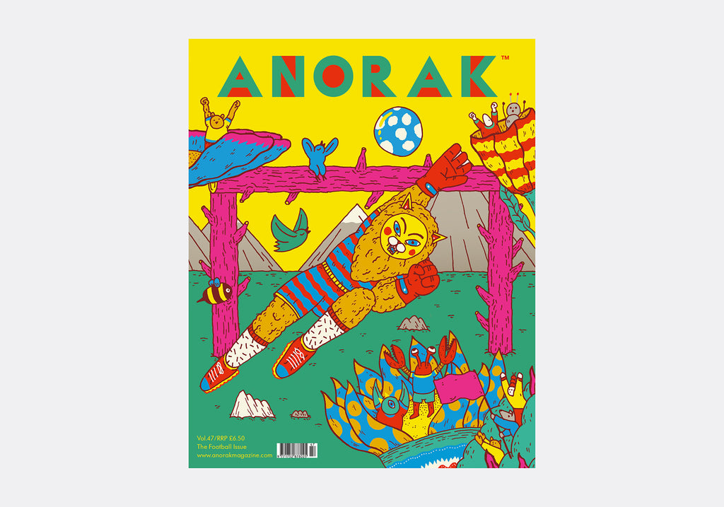 ANORAK MAGAZINE - FOOTBALL - VOL 47