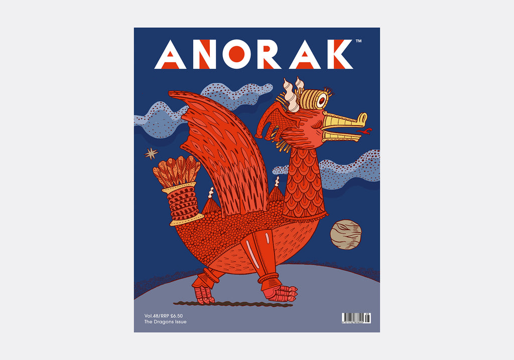 ANORAK MAGAZINE - DRAGONS - VOL 48