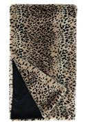 Cheetah Faux Fur Throw