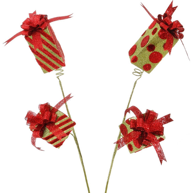 "Package Spray Christmas Decoration (26"")"