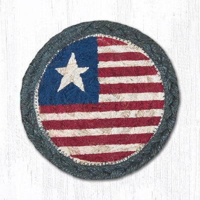 "Original Flag Capitol Earth 5"" Coaster"