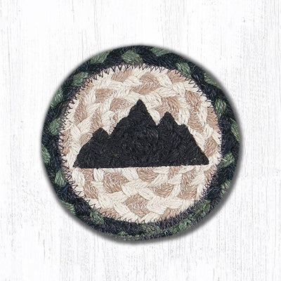 "Mountain Capitol Earth 5"" Coaster"