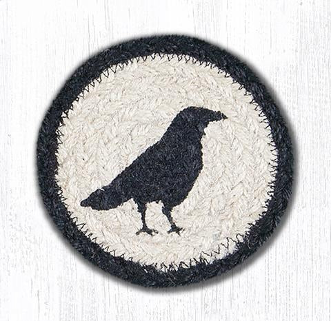"Crow Capitol Earth 5"" Coaster"