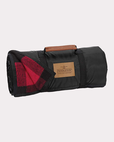 Rob Roy Tartan Nylon Backed Roll-Up Blanket