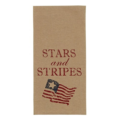 Stars and Stripes Dish Towel