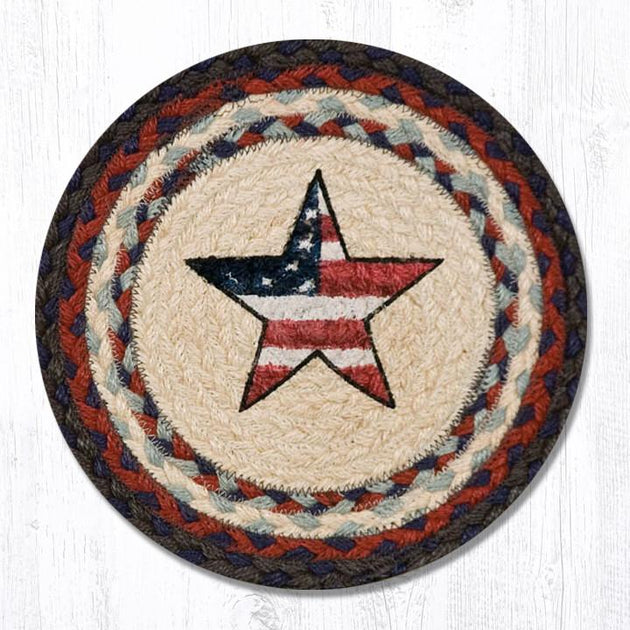 "Americana Star 10"" Capitol Earth Mat"