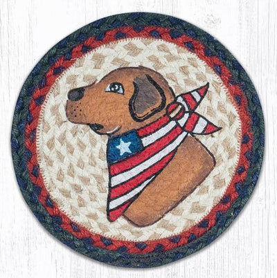 "Yellow Lab 10"" Capitol Earth Mat"