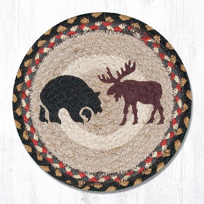 "Bear/ Moose 10"" Capitol Earth Mat"