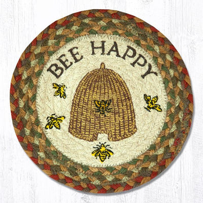 "Bee Happy 10"" Capitol Earth Mat"
