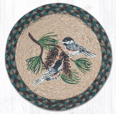 "Chickadee Pine 10"" Capitol Earth Mat"