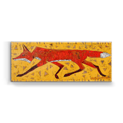 """Red Fox"" Metal Art (A5BX-REDF)"