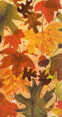 Autumn Leaves (Guest Towel)