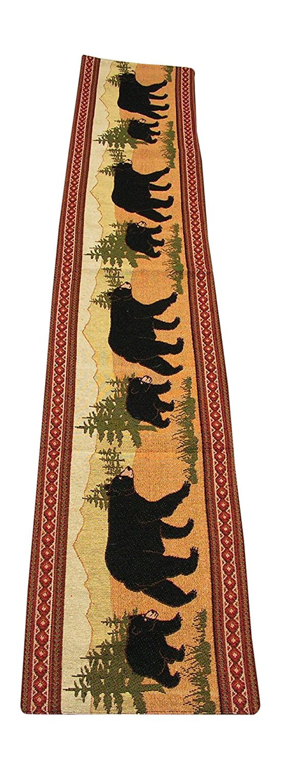 Black Bear Table Runner (#12031)