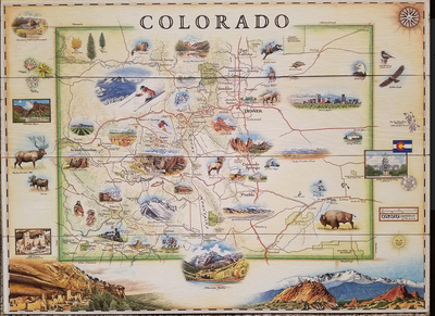 Explorer Map of Colorado (XM-CO)