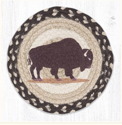 "Brown Buffalo 10"" Capitol Earth Mat"