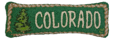 Colorado Pine Wool Pillow