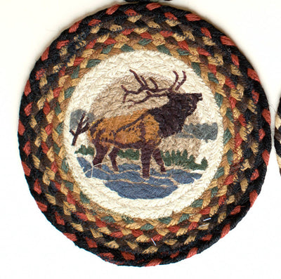 "Winter Elk 10"" Capitol Earth Mat"