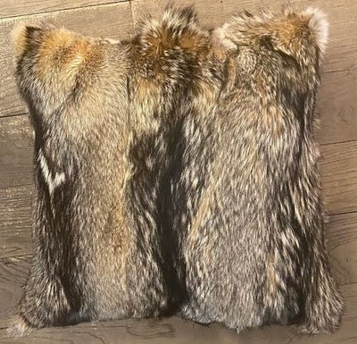 Fox  Hide Fur Pillow