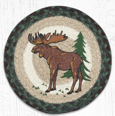 "Highland Moose 10"" Capitol Earth Mat"