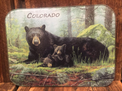 Black Bears Tuftop Cutting Board