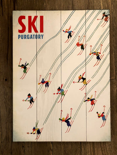 """Little Colorful Skiers"" (#2349)"